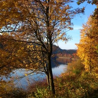 Herbst am Hennesee