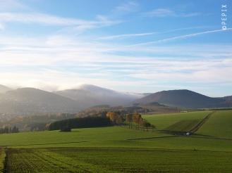 Herbstaussicht bei Siedlinghausen