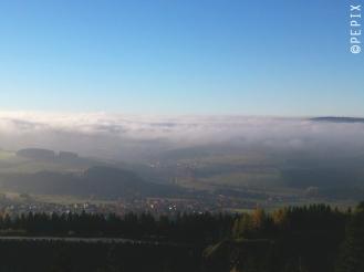 Blick über Hildfeld von der Hochheide