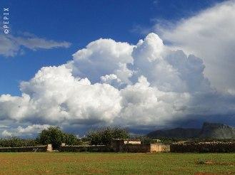 Wolkenberge auf Mallorca