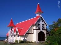 Hübsche Kirche am Cap Malheureux