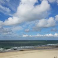Wolken über der Nordsee